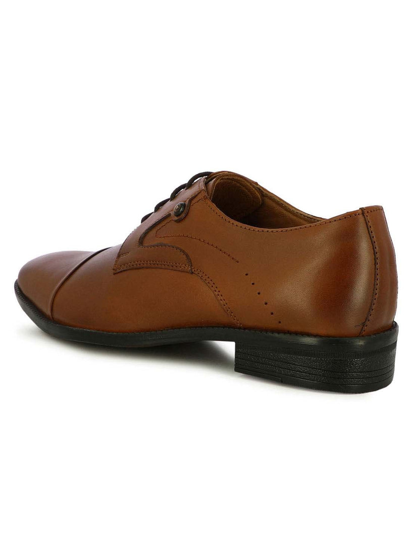 Alberto Torresi Salford Men's Tan Oxfords