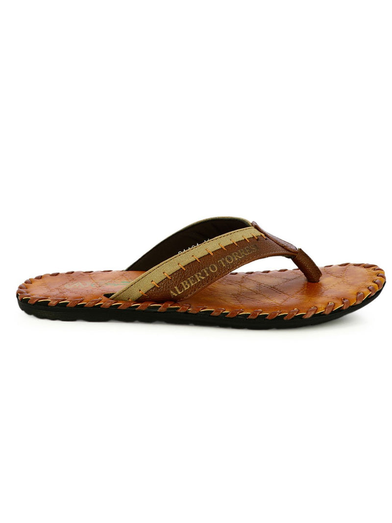 Frank T-Strap Men's Slippers