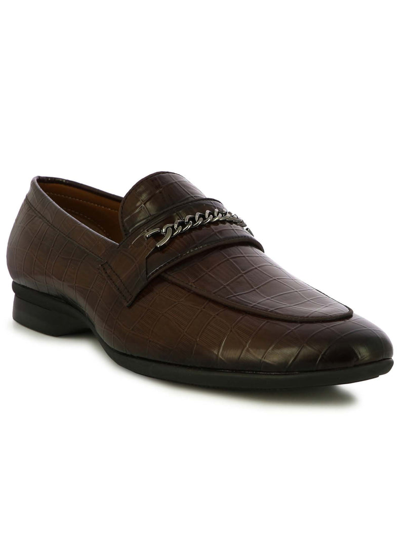 Alberto Torresi Men Ritzy Brown Formal Shoes