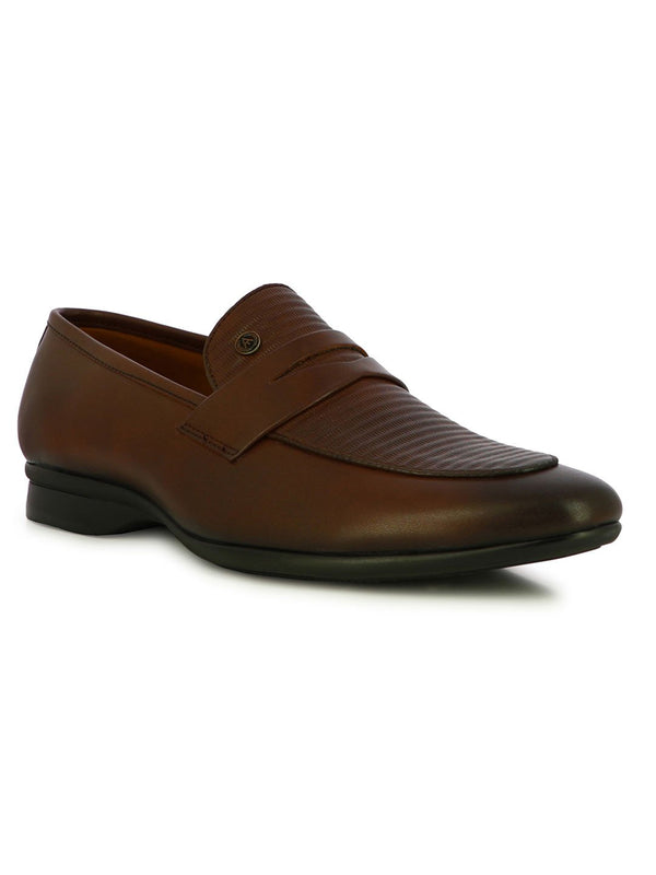 Alberto Torresi Men's Covex Brown Men's Formal Slipons