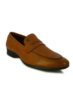 Alberto Torresi Men's Covex Tan Men's Formal Slip-Ons