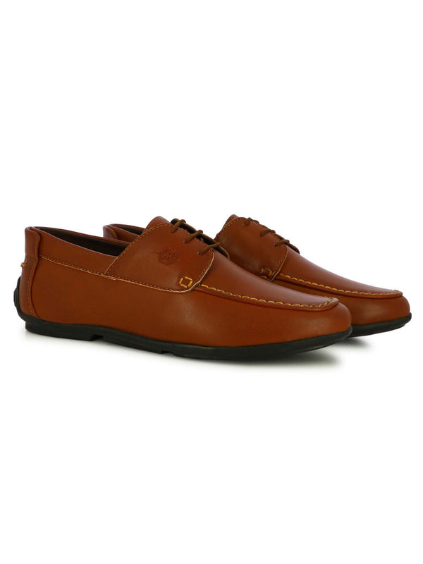 Alberto Torresi Men's Allax Tan Formal Shoes