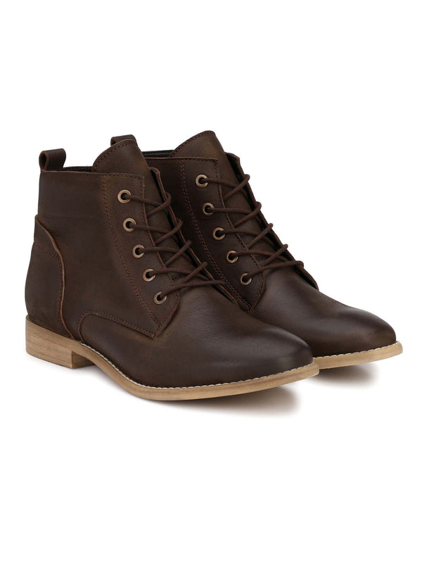 Alberto Torresi Alder Brown Women's Heeled Boots