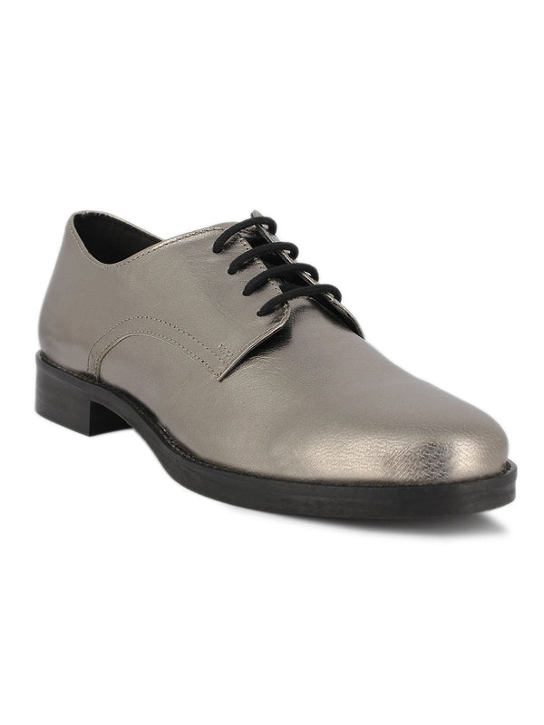Partido Metallic Silver Shoes