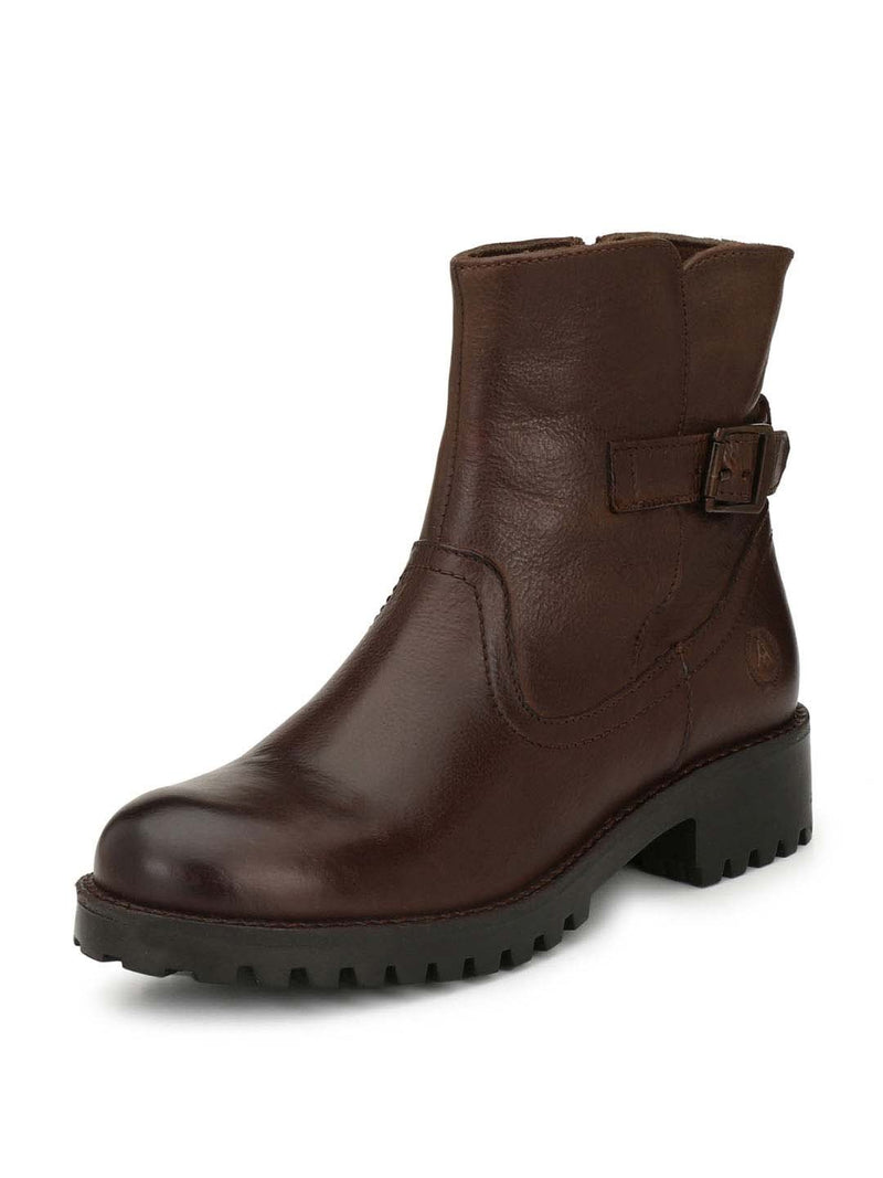 Alberto Torresi Women Nelida Dark Brown boot
