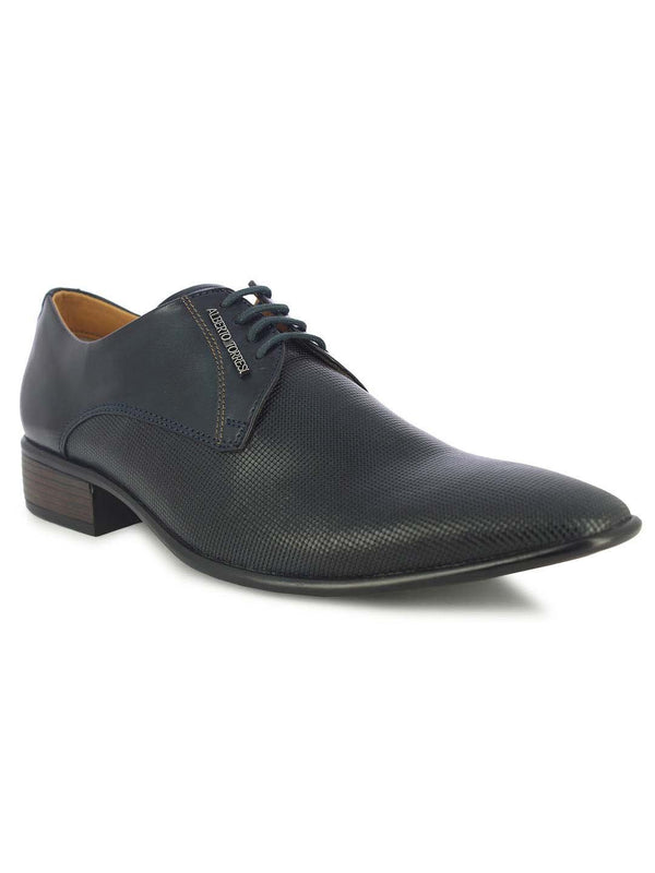 Alberto Torresi Men's Belluno Blue Formal shoes