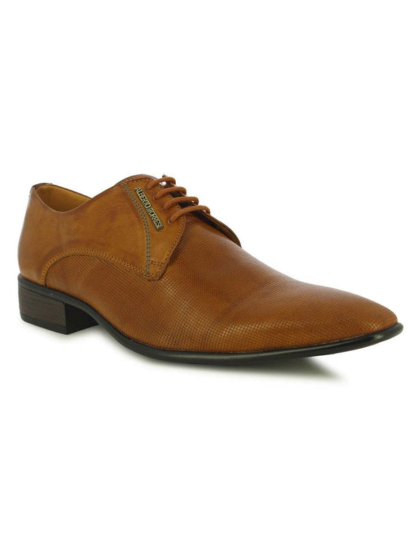 Alberto Torresi Men's Belluno Tan Formal shoes