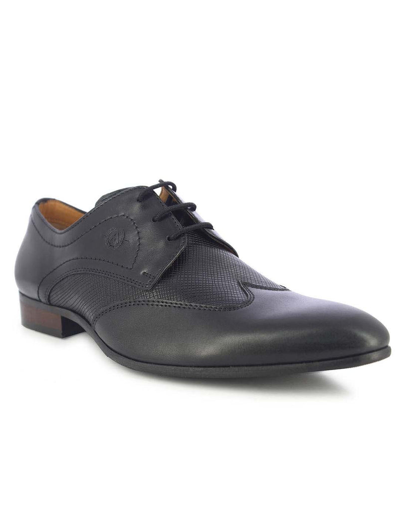 Alberto Torresi Men's Lugo Black Oxfords