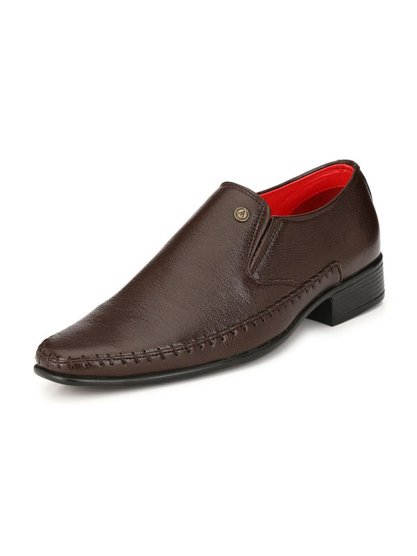 Alberto Torresi Arturo Brown Formal Shoe