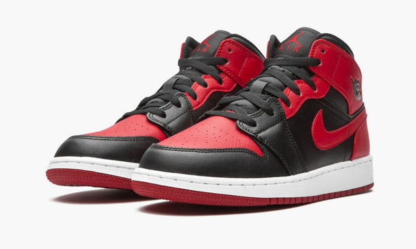 "Air Jordan 1 Mid GS ""BANNED"" - 554725 074"