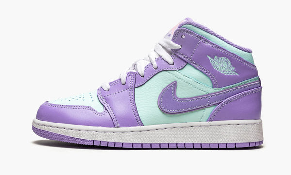 "Air Jordan 1 Mid GS ""Aqua blue"" - 554725 500"