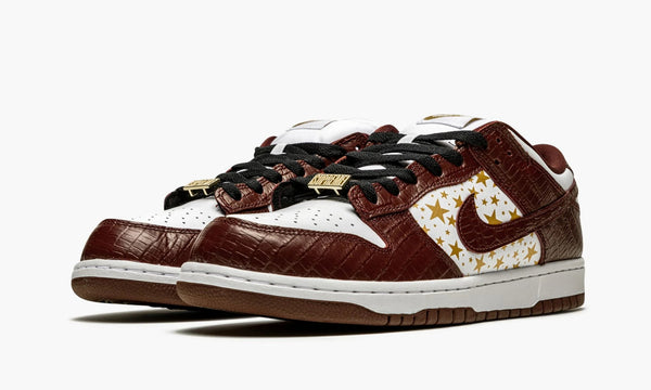 "Dunk SB Low ""Supreme - Stars - Barkroot Brown"" - DH3228 103"