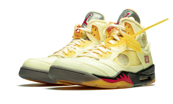 "Nike Air Jordan 5 Retro SP ""Off-White - Sail"" - DH8565 100 