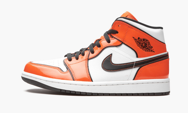 "Air Jordan 1 Mid SE ""Turf Orange"" - DD6834 802"