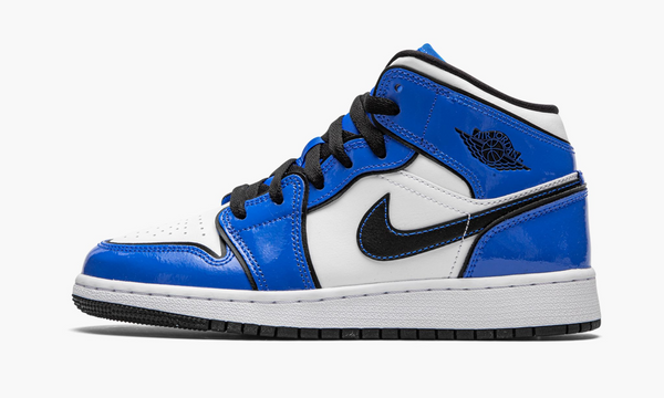 "Air Jordan 1 Mid SE GS ""Signal Blue"" - BQ6931 402"