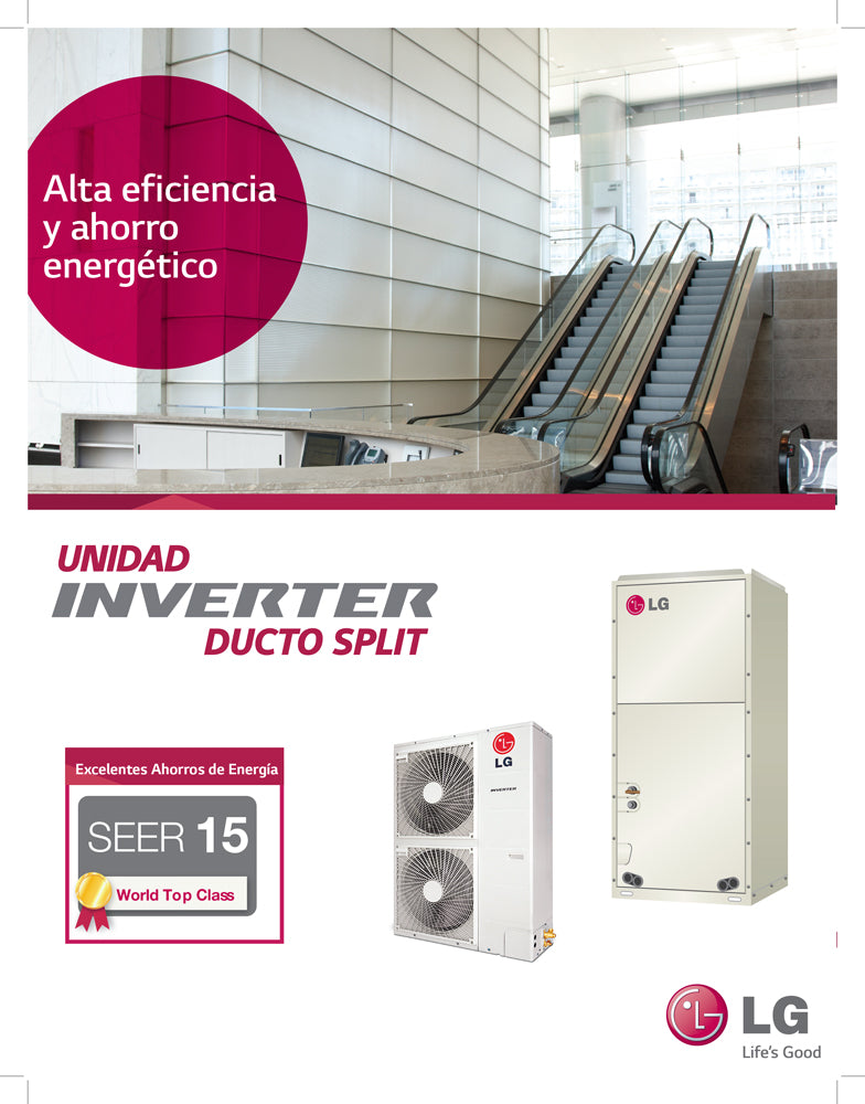 2016 Catalogo LG Central Inverter