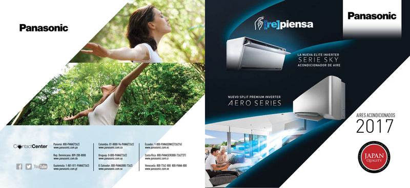 2017 Catalogo Panasonic Aires Inverter