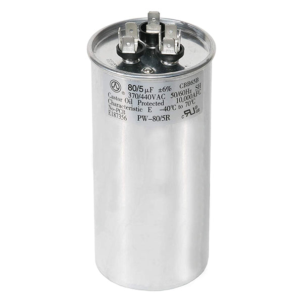 Capacitor Marcha Dual 370 x 25+5 MFD