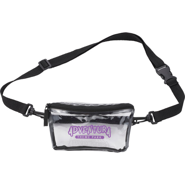 Clear Tinted Convertible Waist Pack