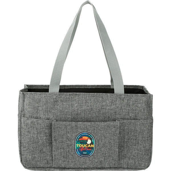 Graphite Medium Utility Tote
