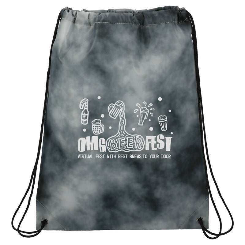 Tie Dyed Drawstring Bag