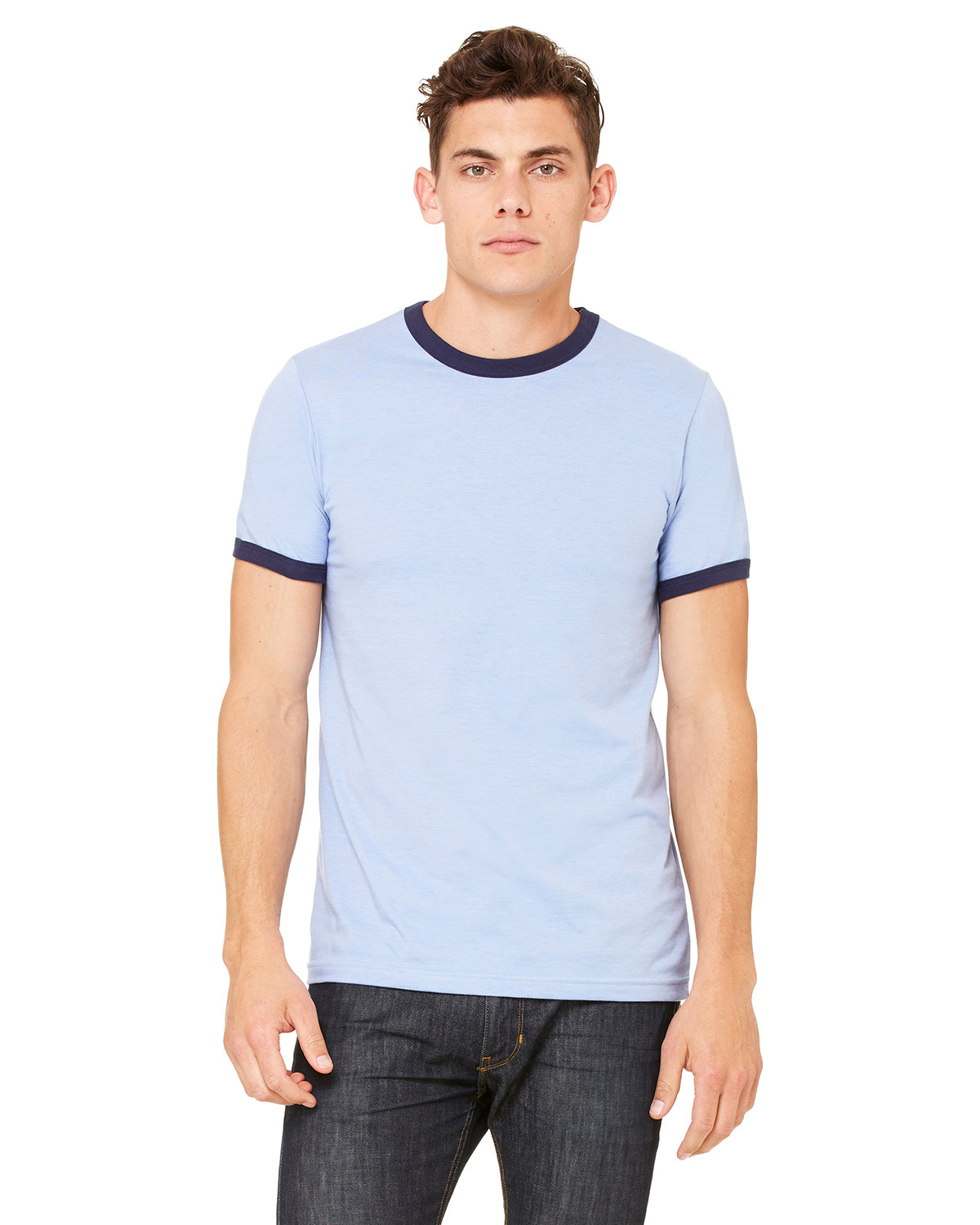 Bella + Canvas 3055C Ringer T-Shirt