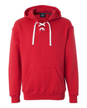 Load image into Gallery viewer, J. America Sport Lace Hooded Sweatshirt 8830