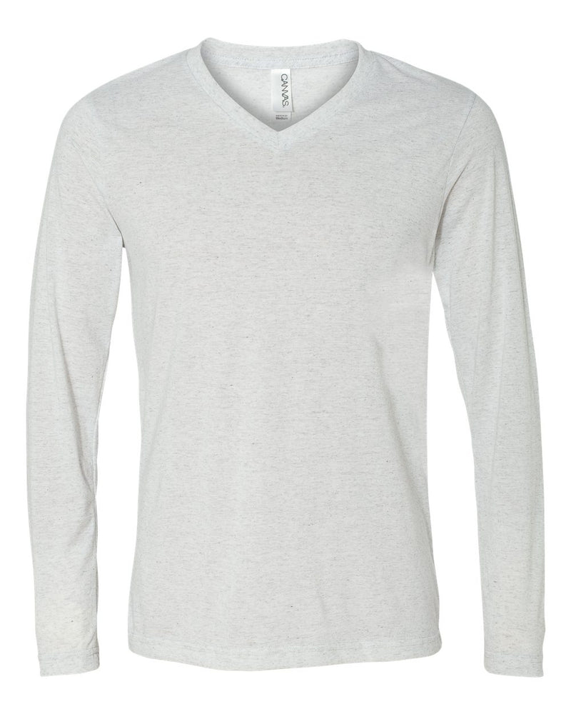 BELLA + CANVAS Unisex Long Sleeve V-Neck Tee 3425