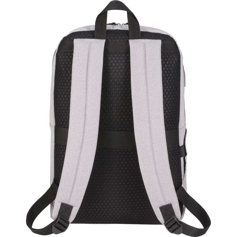"NBN Whitby Slim 15"" Computer Backpack w/ USB Port"