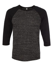 Load image into Gallery viewer, BELLA + CANVAS Unisex Three-Quarter Sleeve Baseball Tee 3200