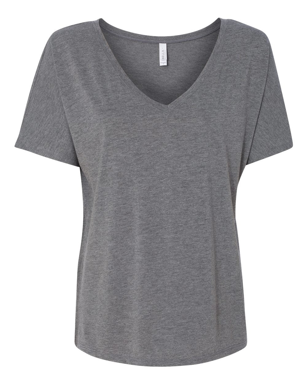 Bella + Canvas 8815 Women's Slouchy V-Neck Tee