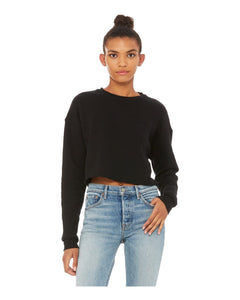 BELLA + CANVAS Women's Cropped Crew Fleece B7503