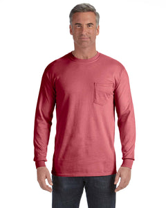 Comfort Colors Long Sleeve Pocket T-Shirts C4410