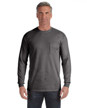 Load image into Gallery viewer, Comfort Colors Long Sleeve Pocket T-Shirts C4410