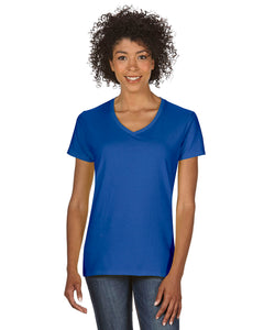 Gildan G500VL Women's 100% Cotton V‑Neck T‑shirt