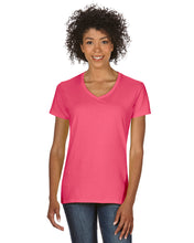 Load image into Gallery viewer, Gildan G500VL Women's 100% Cotton V‑Neck T‑shirt