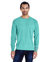 Load image into Gallery viewer, ComfortWash by Hanes Garment Dyed Long Sleeve Pocket T-Shirt GDH250