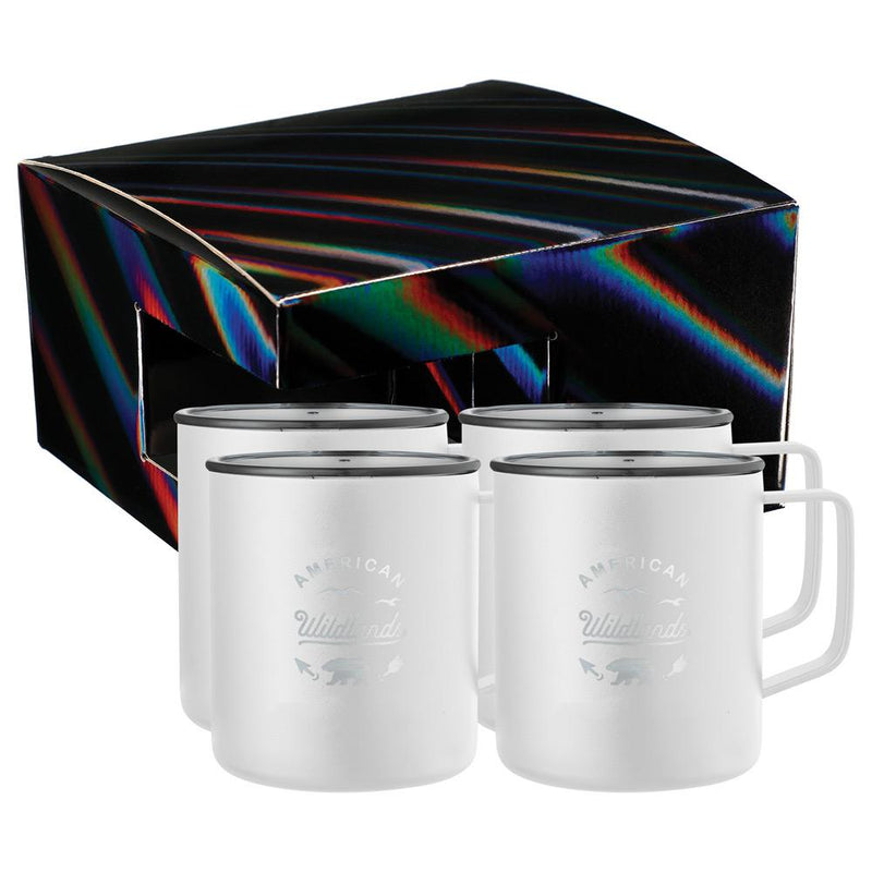 Rover Camp Mug 14oz  4 in 1 Gift Set