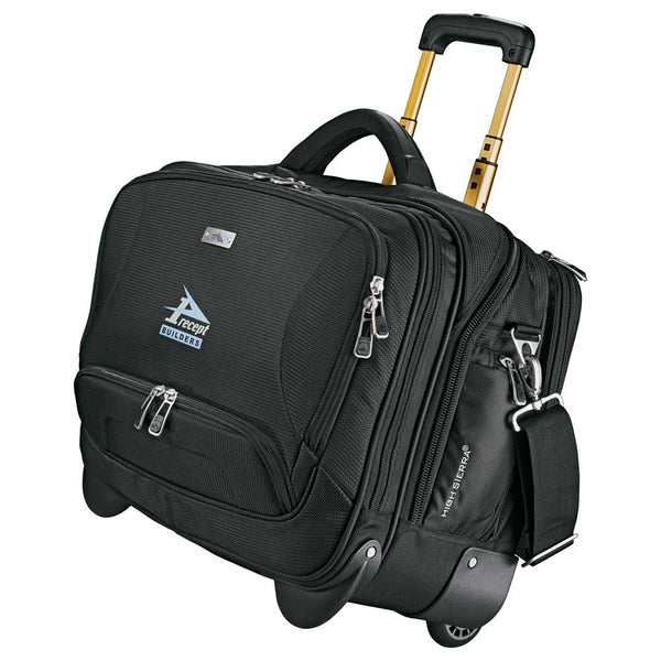 High Sierra Integral Wheeled Computer Briefcase