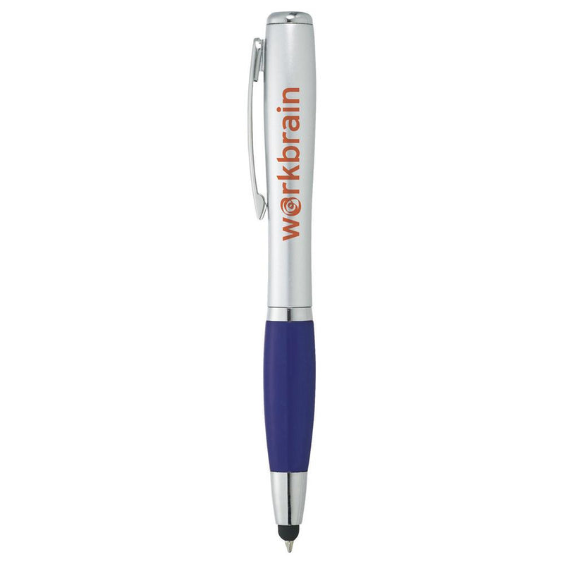 Nash Glam Ballpoint Pen-Stylus w/ Light