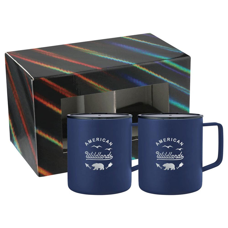 Rover Camp Mug 14oz  2 in 1 Gift Set