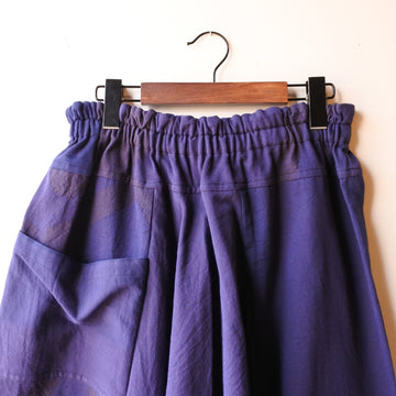 tamaki niime |tarun pants short  cotton