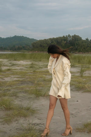 """Boga"" Oversized Blazer Dress"