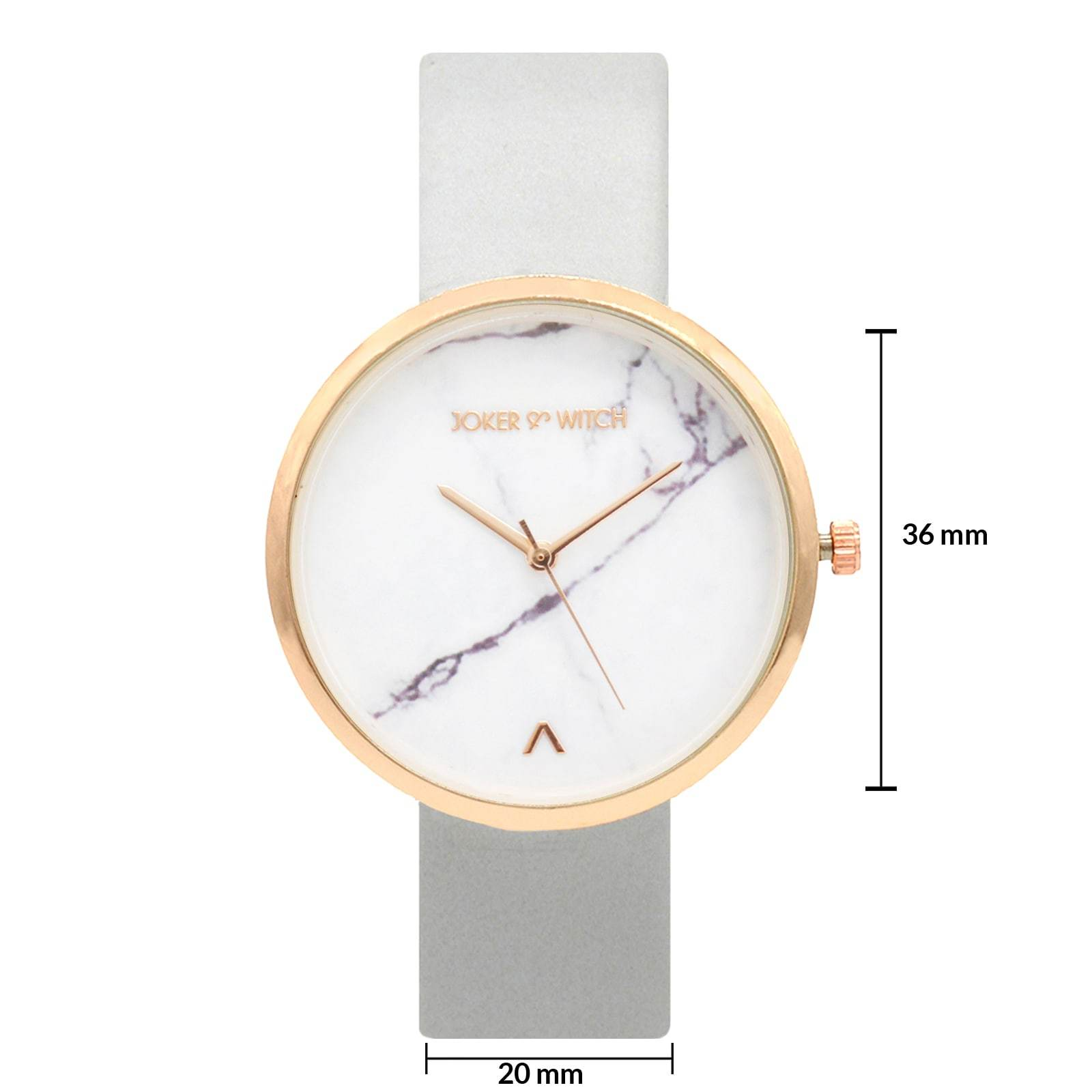 Hailey Grey Marble Dial Watch - Joker & Witch