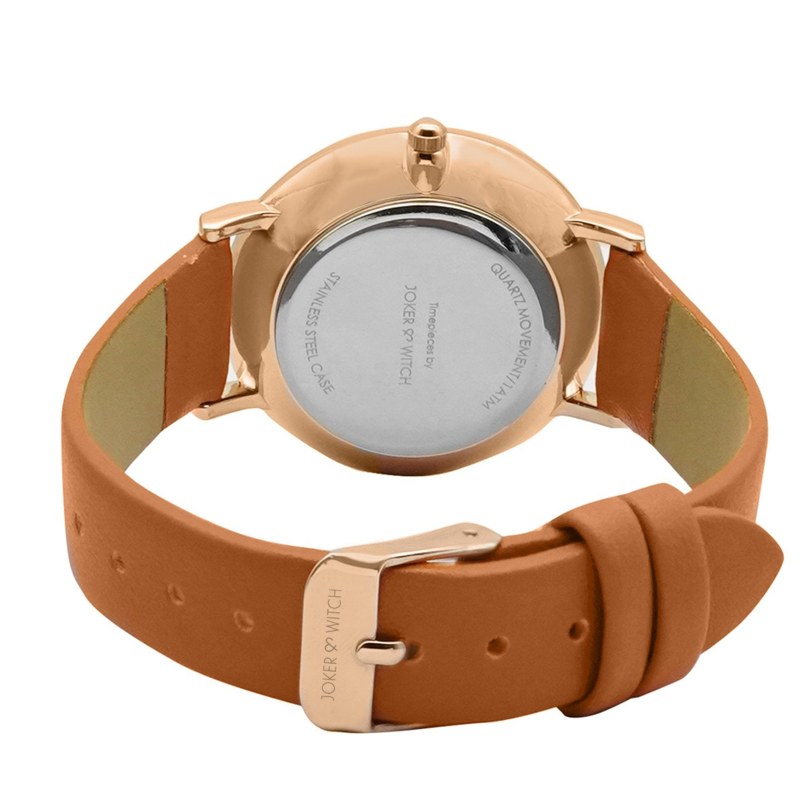 Ines Sleek Tan Watch