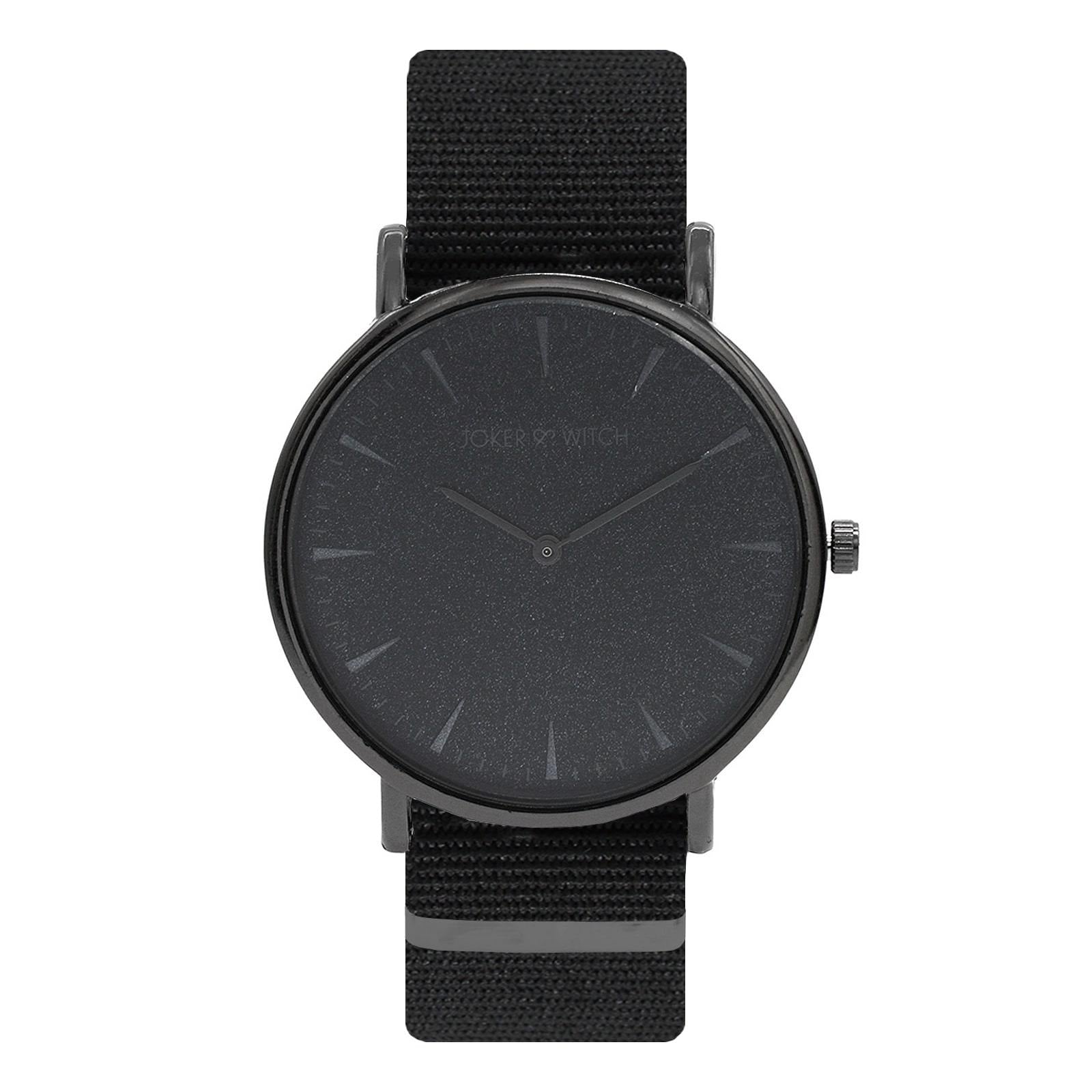 Phile Black Dial Nato Watch - Joker & Witch