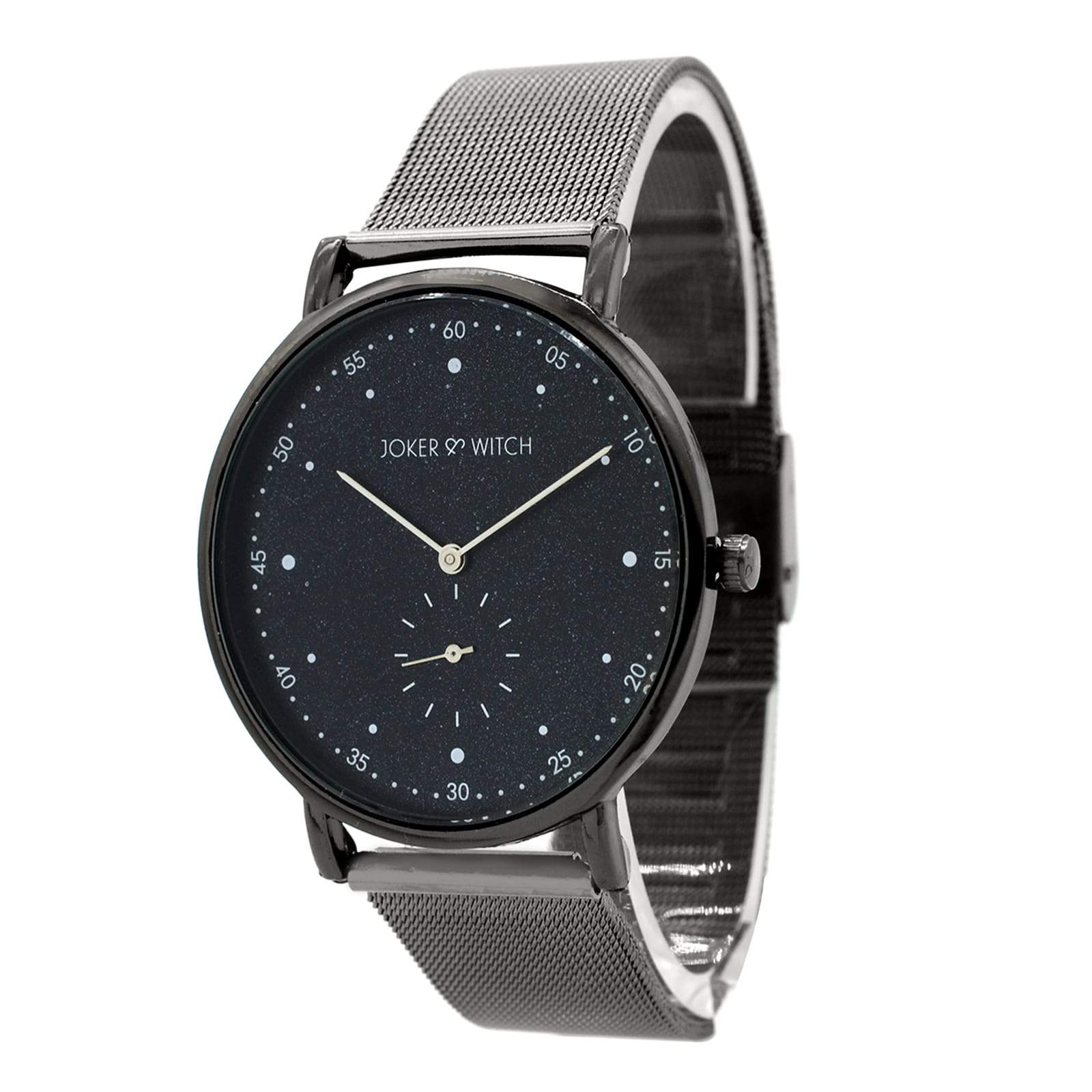 Drake  Classic Gunmetal Mesh Watch - Joker & Witch