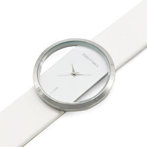 Minimal White Watch - Joker & Witch