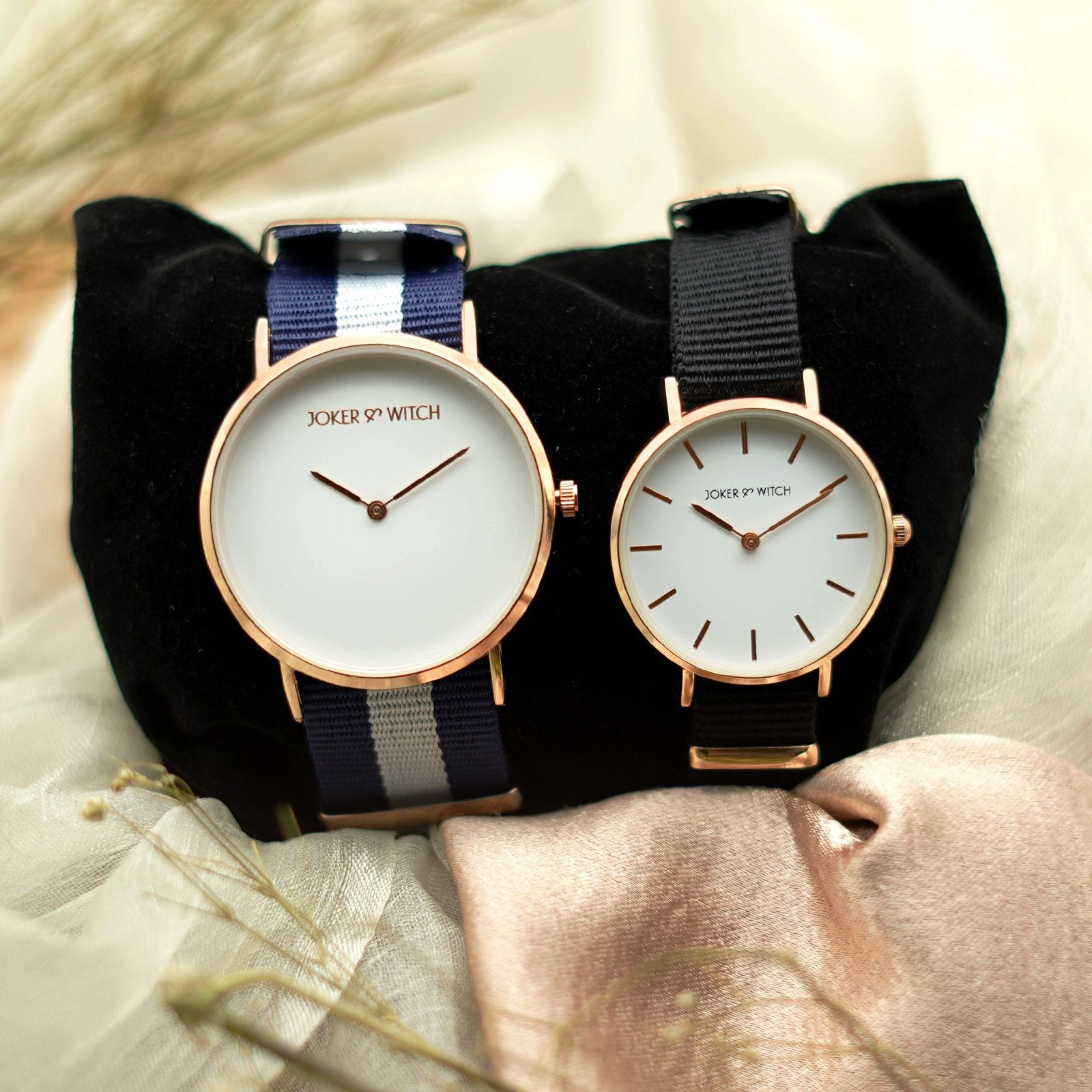 Eric & Ariel Couple Watches