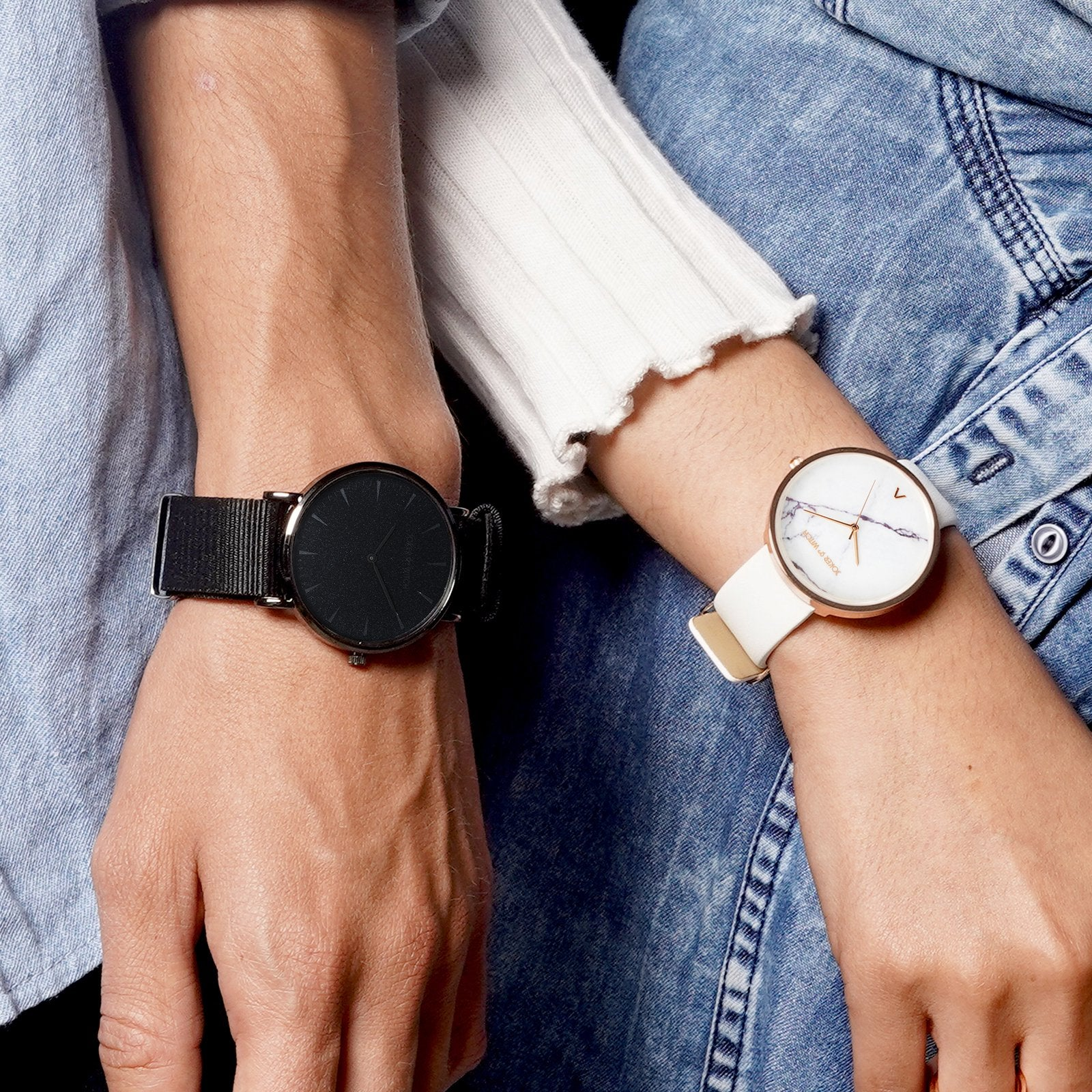 Cookie & Lyon Couple Watches